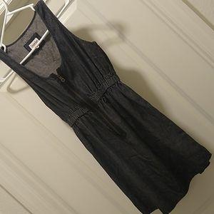 Derek Heart, Denim Mini Dress, Size Sm